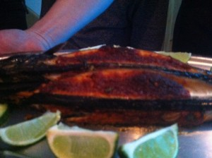 May's chilli mackerel